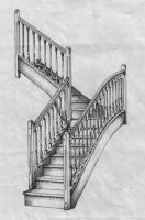 Stairs by Franca