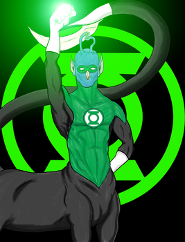 Green Lantern Corps: Andalite Race by Dragon-Ed