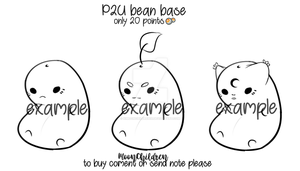 P2U bean base by xIMoonChildrenIx