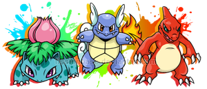 First Gen Starters by FissionBase