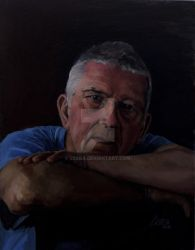 2-Brian-Portait of MK- C5aba - OneArtStudio by C5aba