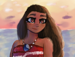 Moana Color Study by xxdarkelsaxx