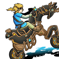 Legend of Zelda DLC: Breath Of The Cycle by thegamingdrawer