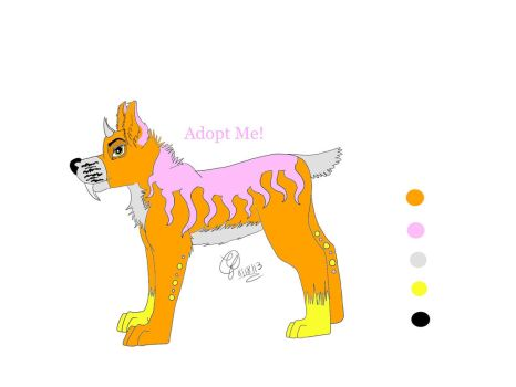 Neon Adopt REDUCED (Closed) :U: by Cloudfirelivestodraw