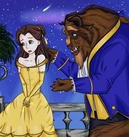 Belle and the Beast by Meowkin