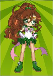 - Collab Super Sailor Jupiter- by Cyberbirdy