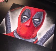 Deadpool by KeitimariArt
