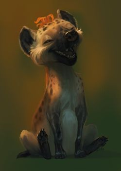 Hyena Sketch by KEPZONE
