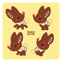 Chocolate Reindeer by Daieny