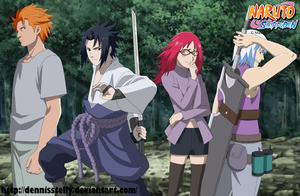 Sasuke and Team Hebi by DennisStelly