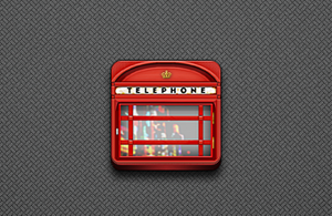 Phone Booth Icon - Jaku theme by techniclez