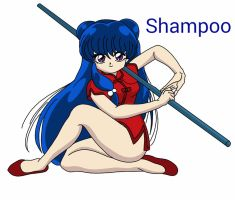 Shampoo (Ranma 1/2) by darkduskshine