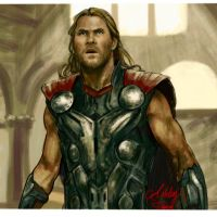 Thor Avengers age of Ultron by ashleysartwold