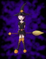The Pumpkin Witch by mrc