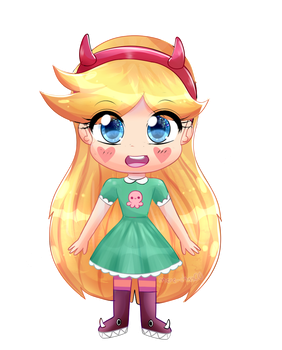 chibi star by mere-chan00