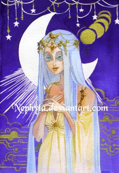 White Moon by Nephyla