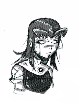 Wounded Blackfire by Dark-Eyed-Junco