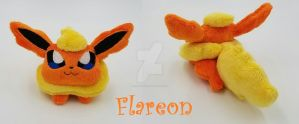 Flareon Plush Toy Beanie ~ SOLD! by Lunarchik13