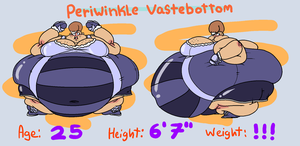 Reference Sheet COM: Periwinkle Vastebottom by Mask-De-Jimman