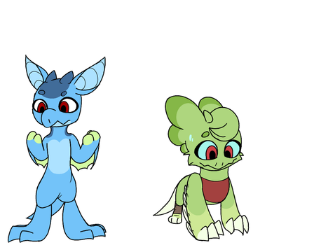 (For fun) If you and me switched forms by Spottedtail-Cat-Art