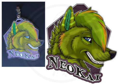 Commissions: NeoKai - badge by SaQe