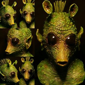 Greedo - Professional Latex Mask  by evanparrafx