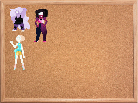 The Paper Doll Corkboard by AirwaveLOL