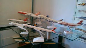 MY AIRLINERS COLLECTION 747 1/200 ZONE by victordragon747