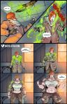 Post-Apocalyptic Female Muscle Growth by muscle-fan-comics