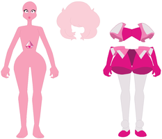 SU Pink Diamond Base by SelenaEde