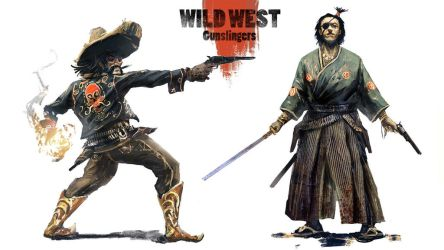 Wild west Gunslingers by BGK-Bengiskhan