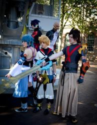 Kingdom Hearts Birth By Sleep - Light and Darkness by GrimoireCosplay