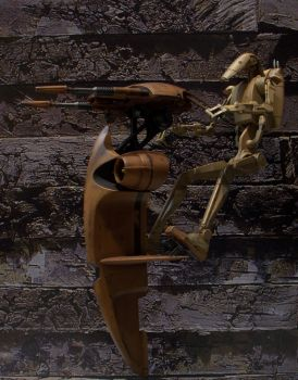 Sideshow Infantry Battle Droids And STAP 1/6 F. 2 by Minas-Tirith-Hakan