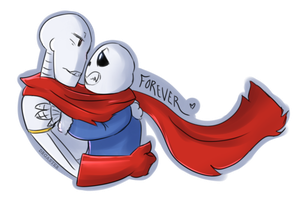 UT: Red Scarf of Fate (Request) by DrGaster