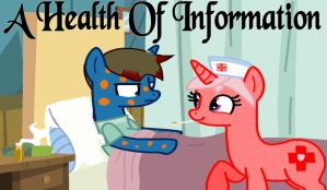 A Health Of Information Title Card by ShoJoe