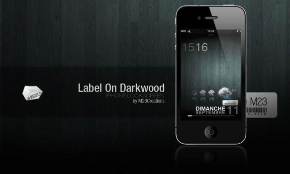 LS Label On Darkwood by M23creations