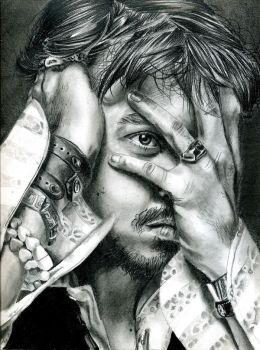 The mind of captain Sparrow by NSmoerebroet