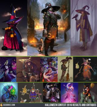 Halloween Contest 2016: Results! by CGCookie