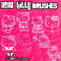 Hello kitty brushes by ztiloohfresaah
