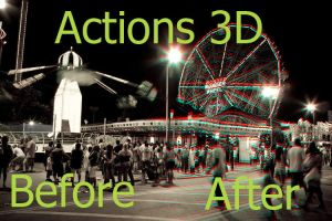 Action 3d by lilianalipio