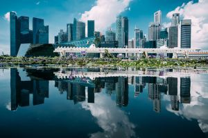 Singapore Skyline by Stefan-Becker