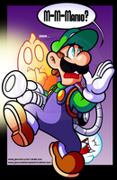 My Inadequete Halloween Picture -starring Luigi- by JamesmanTheRegenold