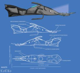 Manta Blueprints by Silvre
