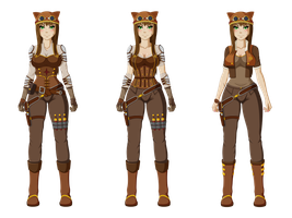 Cera Main Outfits by Nasby321