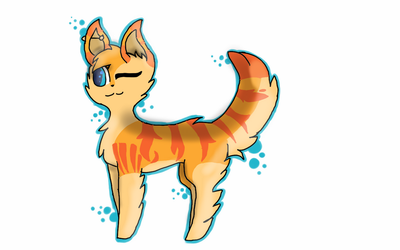 Bubbles-AT with Teal-Newt by cookiethekitten