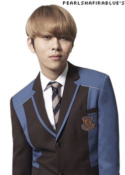 Beast/ B2ST's Junhyung PNG by pearlshafirablue