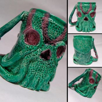 Taza Cthulu - Cthulu Cup by ApeSapiens-Expo