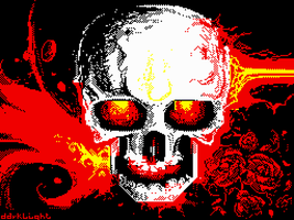 When I sleep I see demons [ZX Spectrum] by dakael
