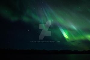 Northern lights Alaska by MarchCoven