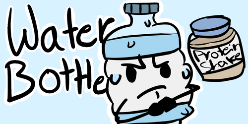 Water Bottle - CTC Debut Application by FakemonForce